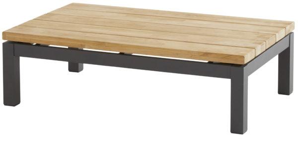 CAPITOL Стол кофейный 120х75 см, тик антрацит