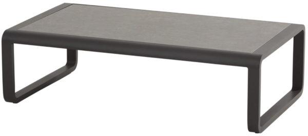 OMEGA Стол кофейный 120х80 см, темно-серый