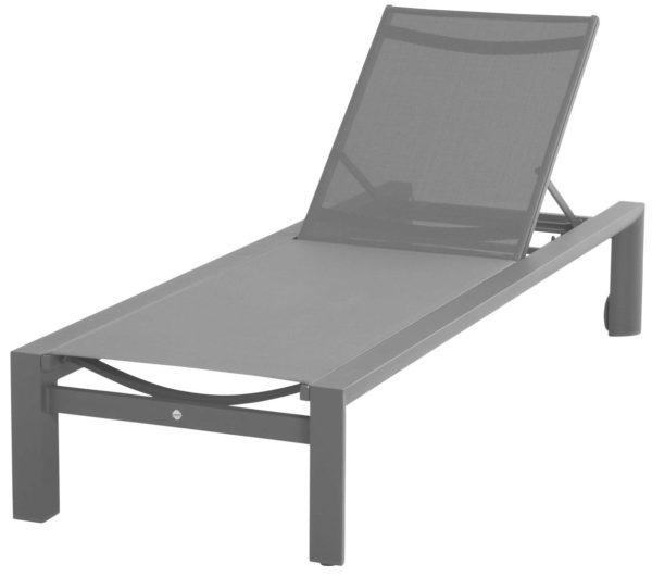 Шезлонг Tropic светло-серый цена: 85 850,00₽